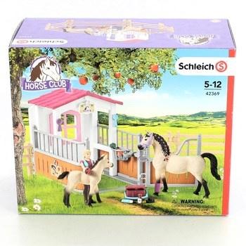 Koně se stájí Horse Club Schleich 42369