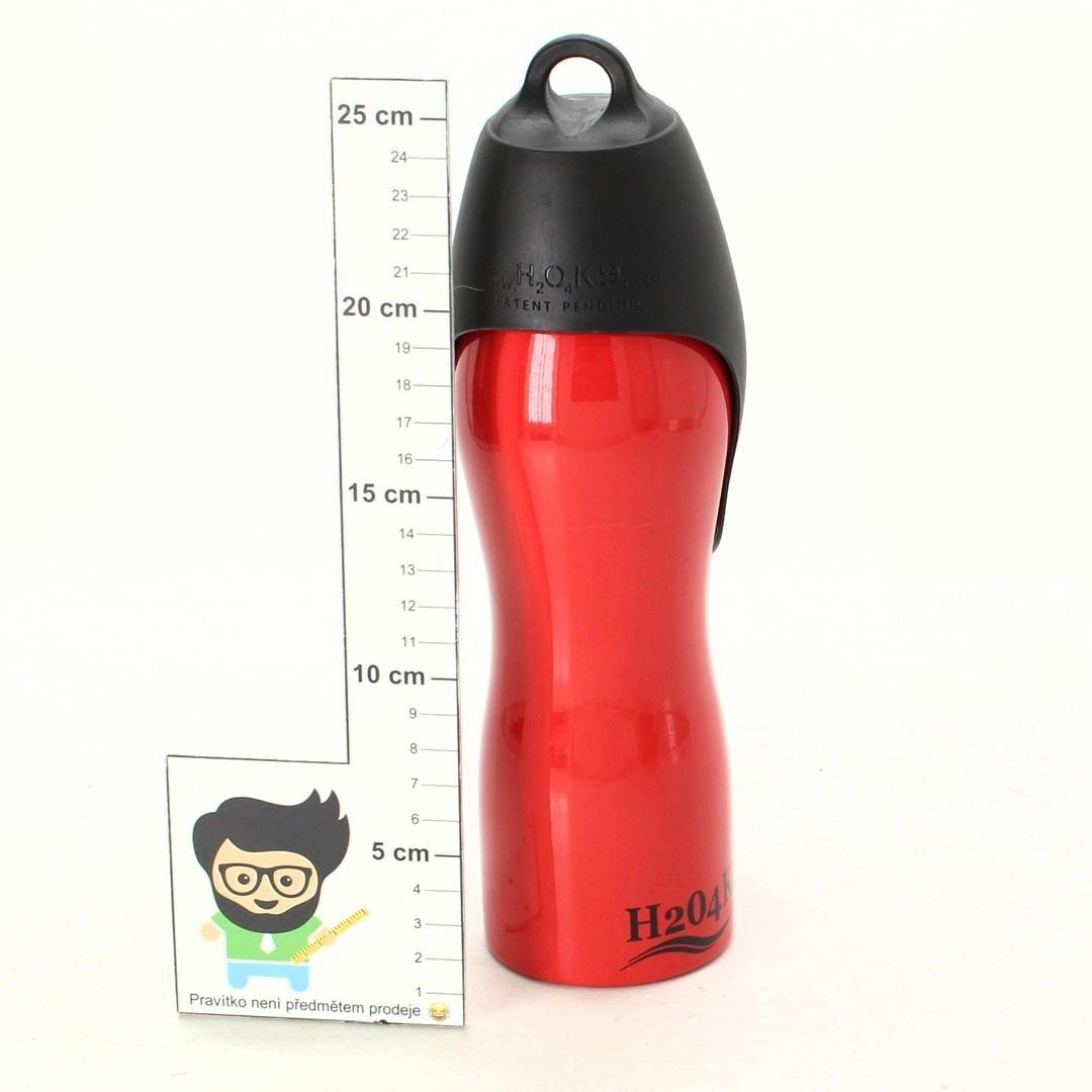 Cestovní Lahev H2O4K9 červená
