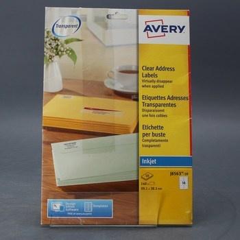 Samolepící etikety Avery J8563-10