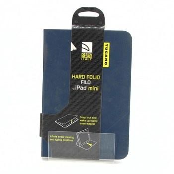 Pouzdro Tucano Hard Folio iPad Mini modré