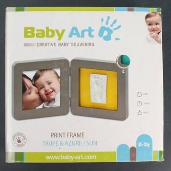 Fotorámeček Print Frame Taupe & Azure
