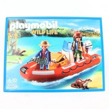 Stavebnice Playmobil 5559 Člun s pytláky