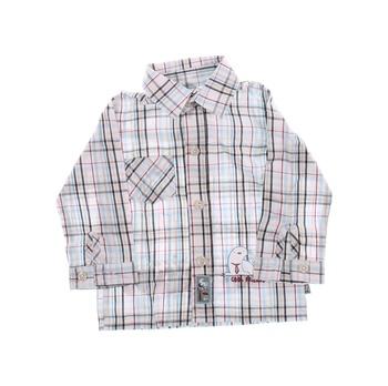Chlapecká košile Okay kostkovaná