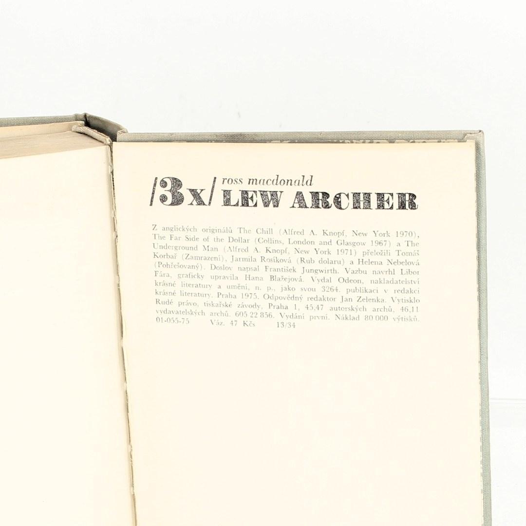 3x Lew Archer