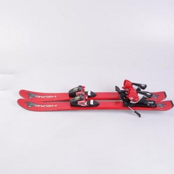 Dětské lyže Head Dinojoe červené