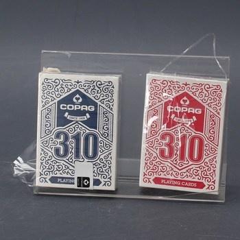 Hrací karty Copag 310 červené a modré