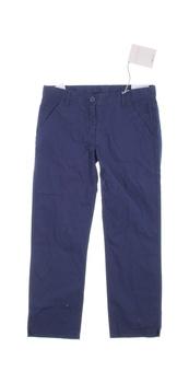 Dětské plátěné kalhoty Geox tmavě modré