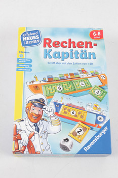 Dětská hra Ravensburger 24972 Rechen-Kapitan