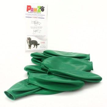 Návleky na packy Pawz zelené