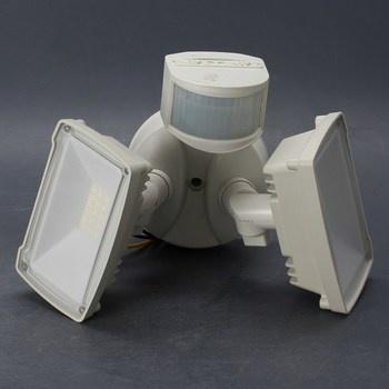 LED reflektor dvě lampy s pohybovým čidlem
