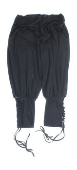 Dámské kalhoty se šněrováním