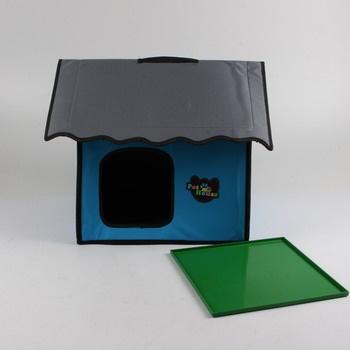 Domeček pro zvířátka textilní