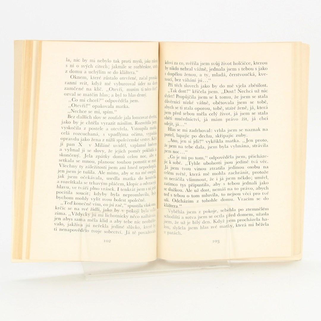 Kniha Dopisy novicky