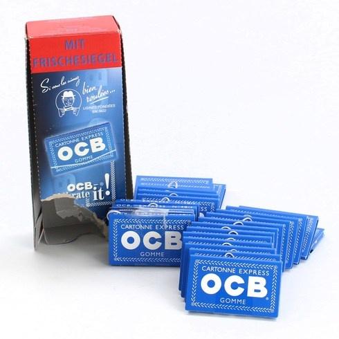 Papírky OCB Cartonne Express Gomme
