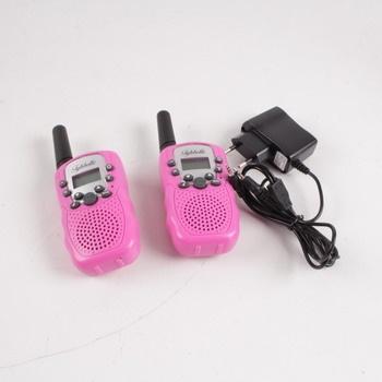 Vysílačky Twintalker T-388 růžové