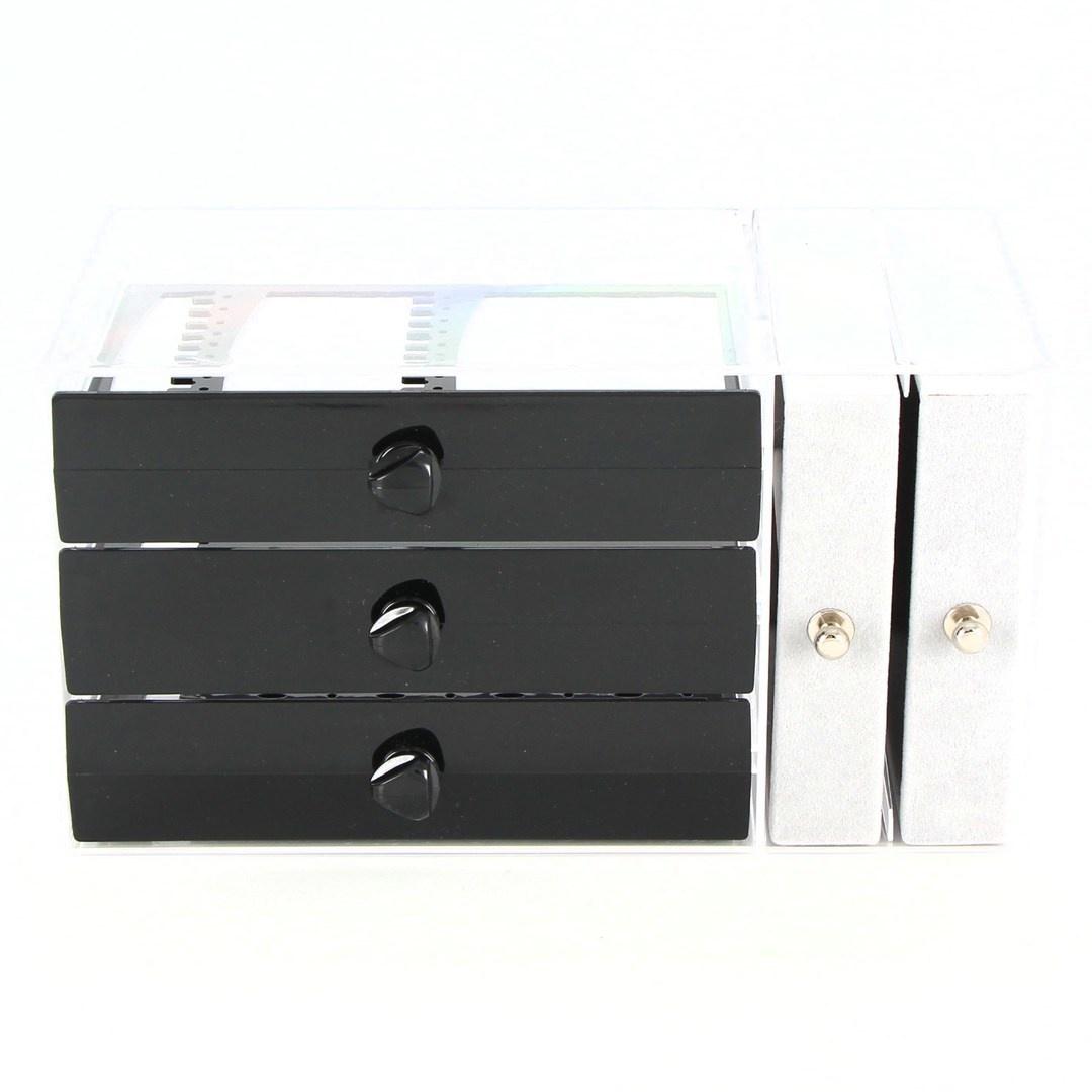 Plastová šperkovnice JNCH BTS0230