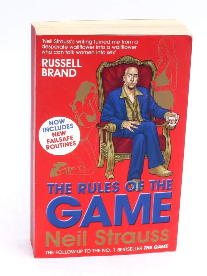Kniha The rules of the game Neil Strauss