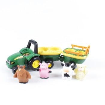 Traktor Tomy John Deere se zvířátky