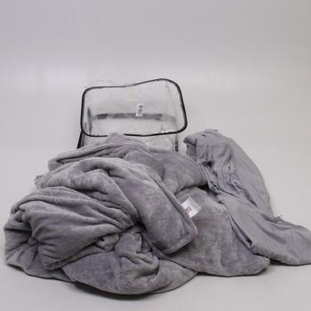 Deka a letní potah SCM odstín šedé