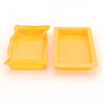 Plastové misky žluté barvy 2 ks