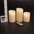 LED svíčky YIWER s dálkovým ovládáním 5 ks