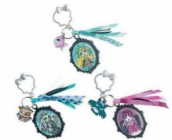 Přívěšek na klíče Monster High modrý