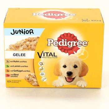 Kapsičky pro psy Pedigree JUNIOR