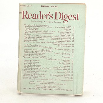 The Reader's Digest August 1946