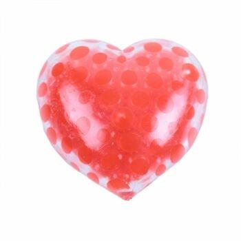Antistresové srdce RAPPA s kuličkovou výplní