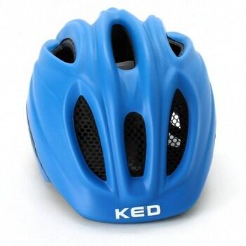 Modrá cyklistická helma KED