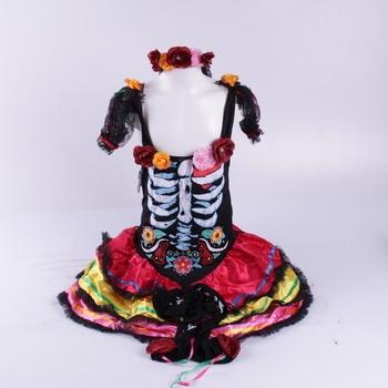 Dívčí kostým Rubie's Senorita Muerta Costume