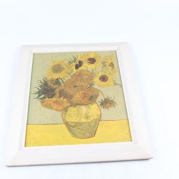 Obraz Vincent V. Gogh:Váza s 15 slunečnicemi