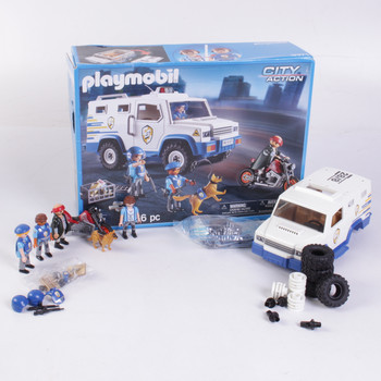 Stavebnice Playmobil 9371 Přeprava peněz