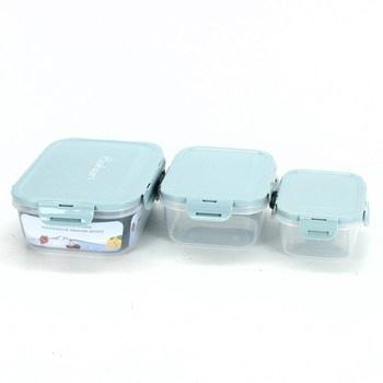 Plastové dózy Baban na potraviny 3 kusy