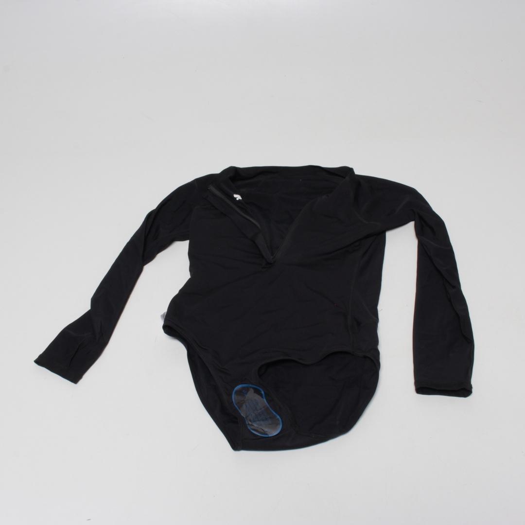 Dámské plavky Puma černé s dlouhým rukávem M
