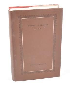 Kniha Theodore Dreiser: Titán