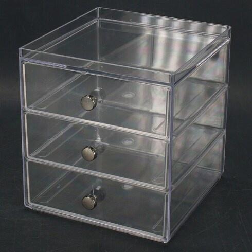 Plastový box Inter Design se zásuvkami