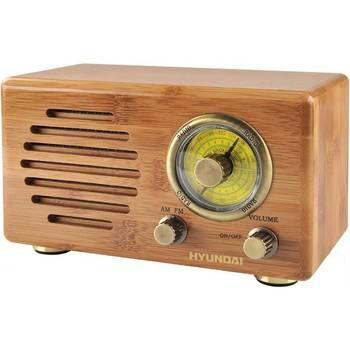 Radiopříjímač Hyundai Retro RA 410B dřevo