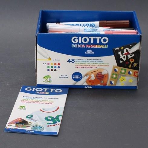 Sada popisovačů Giotto 524600 48 ks