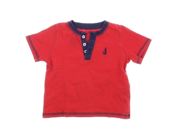 Kojenecké tričko TU červené krátký rukáv