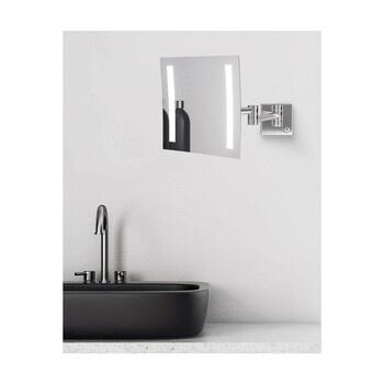 Kosmetické zrcátko Talos, osvětlené
