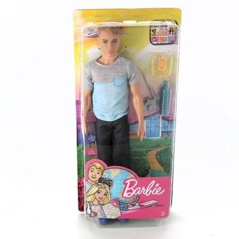 Ken cestovatel Barbie FWV15