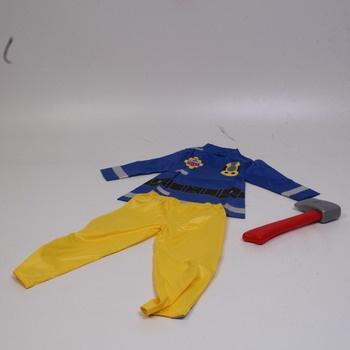 Dětský karnevalový kostým Fireman