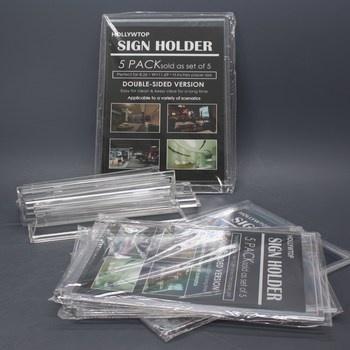 Stojánky na letáky HOLLYWTOP TQ001-A4 4 ks