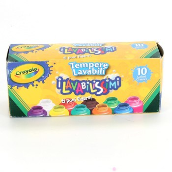 Temperové barvy Crayola 10 ks