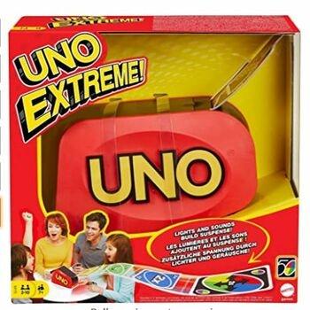 Karetní hra UNO Extreme Mattel GXY75