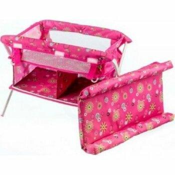 Přebalovací pult Teddies růžový