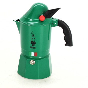 Kávovar Bialetti Moka Alpina zelený 3 šálky