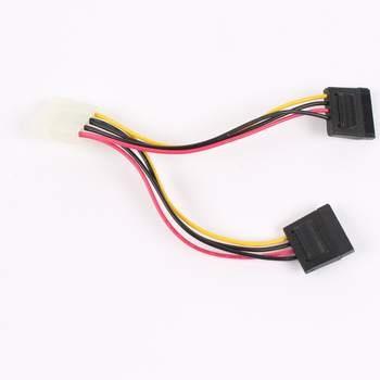 Napájecí kabel Molex - 2x S-ATA 2da3dfb35c2