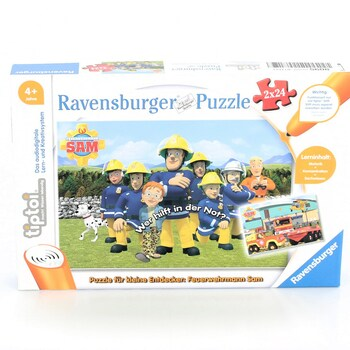 Puzzle Ravensburger 00046 hasič Sam